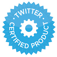 Twitter certified product