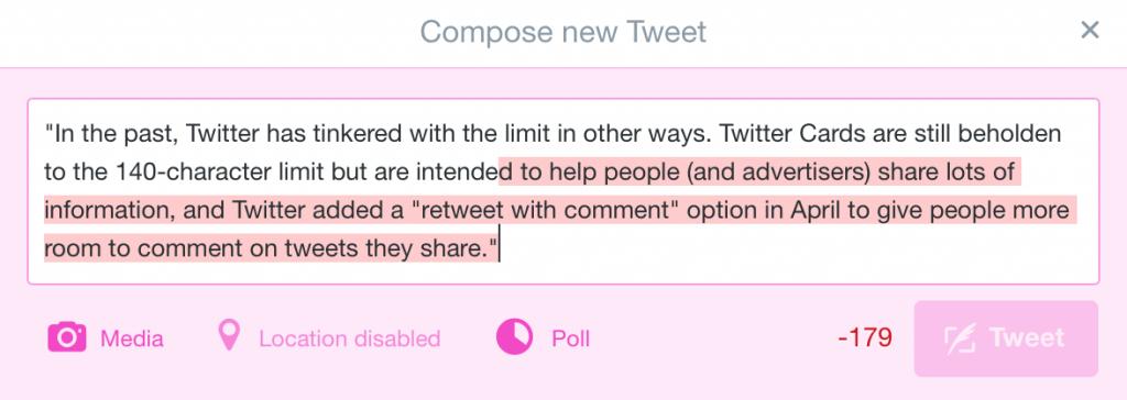 Direktnachricht Twitter