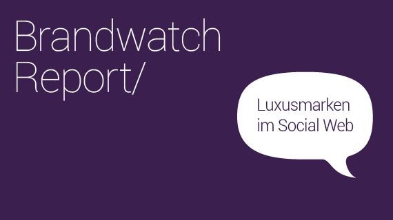 Luxusmarkenreport Blog Header