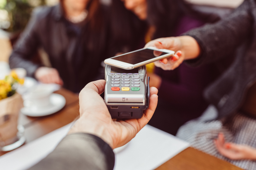 TECHNOLOGY LIKE MOBILE PAYMENTS HAS DRIVEN US INTO THE AGE OF THE CUSTOMER