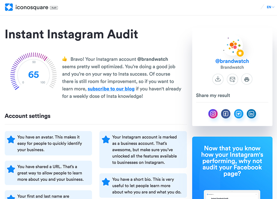 instagram hashtag analytics free tool to analyze instagram hashtags The Best Instagram Analytics Tools Brandwatch