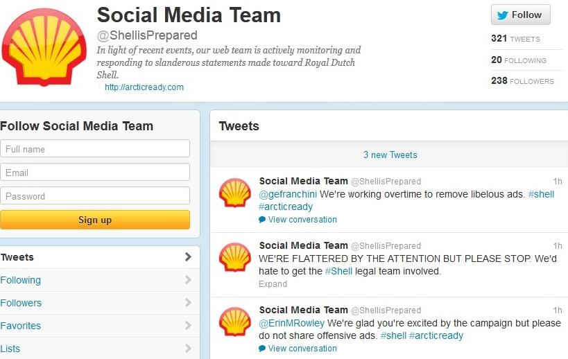 Nonprofits on social media - Greenpeace2