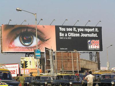 citizen journalism billboard