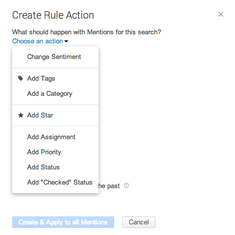 rules actions