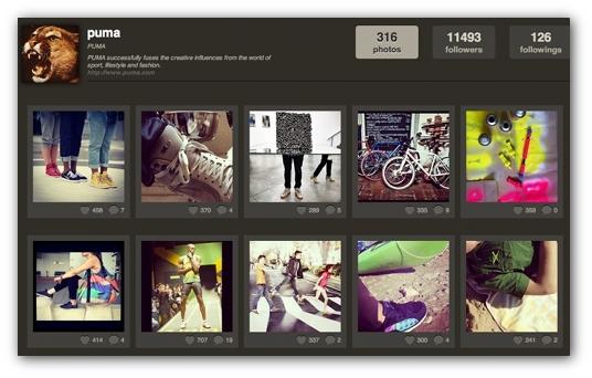 Instagram Puma