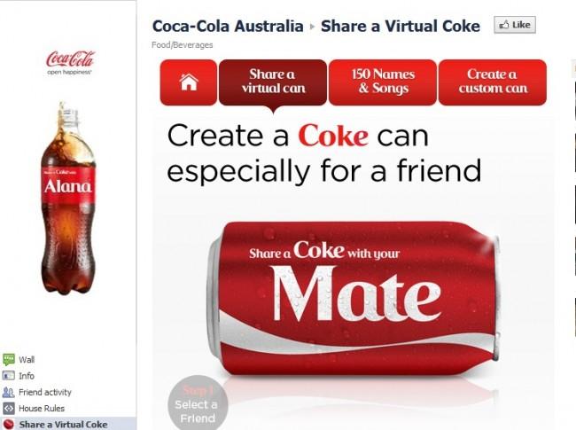 ecommerce coke advert