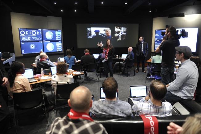 Social media command centers