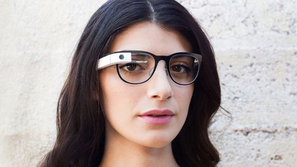 image Google glass morning female pov