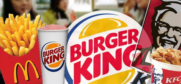 KFC burger king