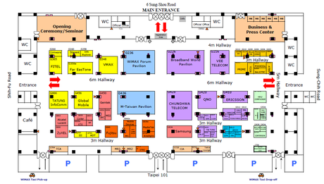 Top tips for attending a trade show for Trade show floor plan design