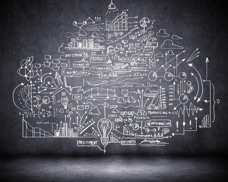 data chalkboard image