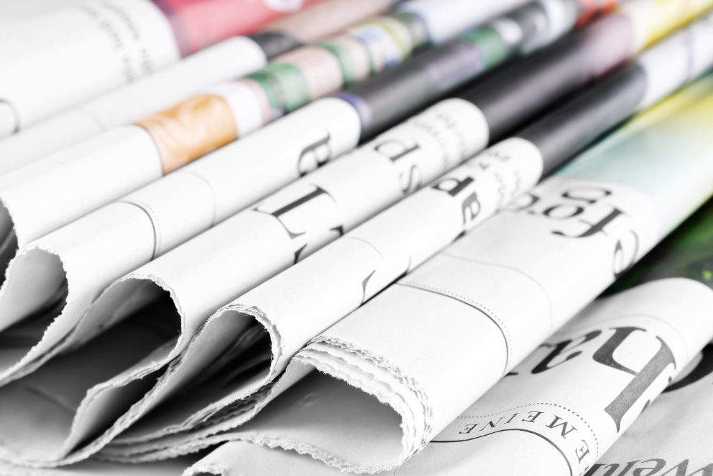 Coverage in newspapers would count as earned media