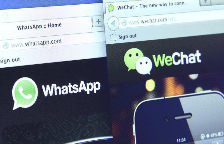wechat and whatsapp chatbots for mcommerce