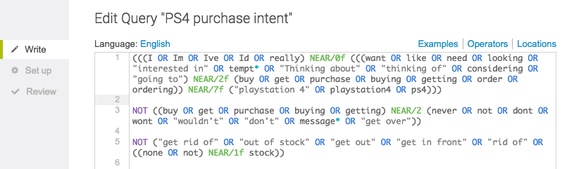 purchase intent