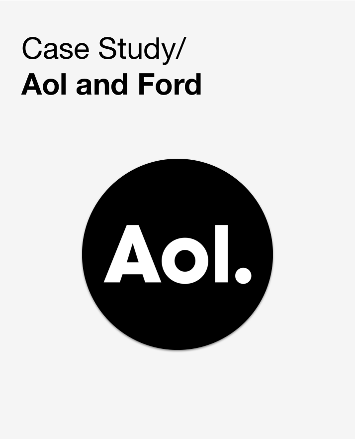 aol case study Aol case study 1 what accounting approach has aol used in the past that it is now changing (related to the $385 million) prior to october 1, 1996, aol accounted for.